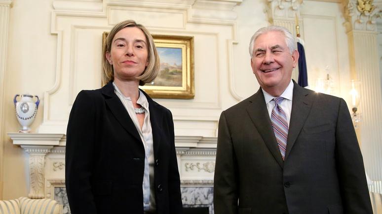 Могерини: ЕС сохранит единство по поводу антироссийских санкций независимо от США