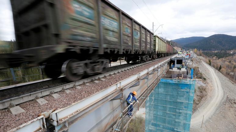 ERR: эстонские железные дороги может спасти лишь Россия