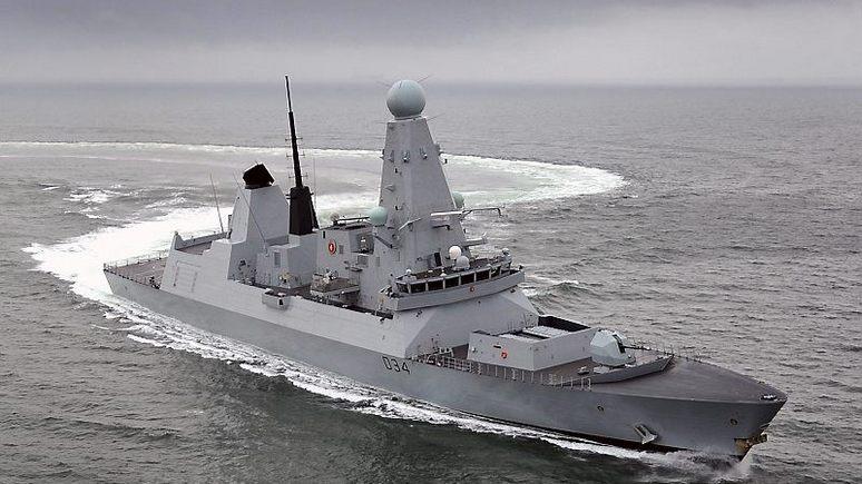 National Interest: одним британским эсминцем Россию не напугать