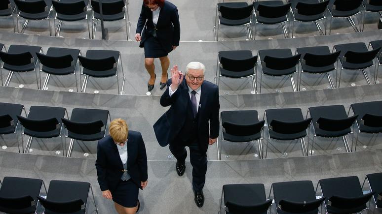 Spiegel: президенту Штайнмайеру в Кремле рады больше, чем его предшественнику