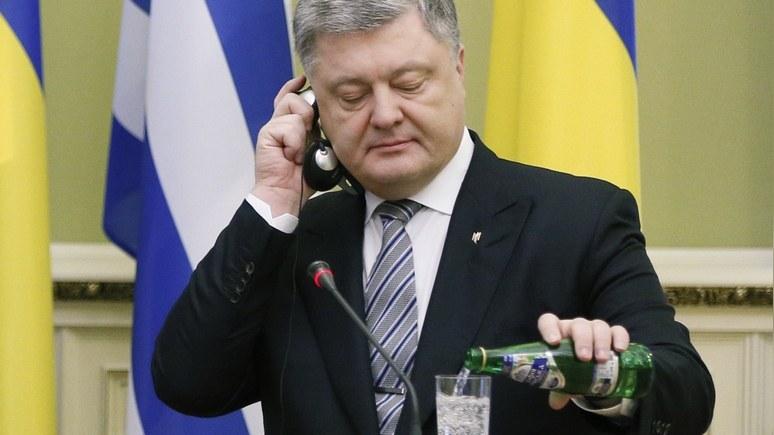 Корреспондент: у Порошенко одобрили позицию Вашингтона по Крыму