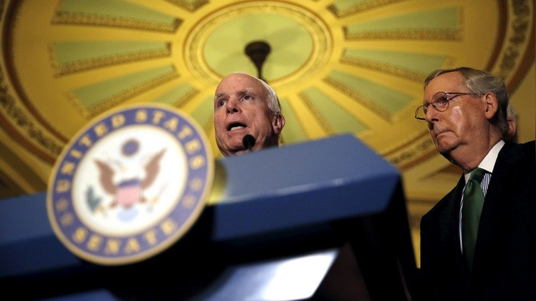 WSJ: конгресс бросит вызов Трампу ради борьбы с «российской угрозой»