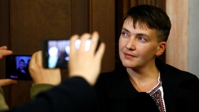 Вести: Савченко отказалась от неприкосновенности — и ждёт того же от остальных