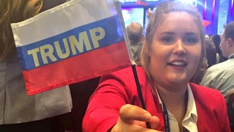 HuffPost: сторонников Трампа разыграли с помощью флагов России