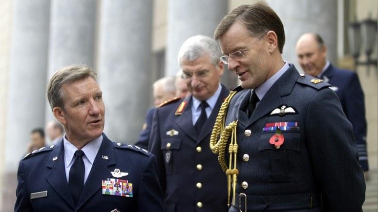 Hill: американский генерал пожаловался на действия турецких ВВС в Сирии