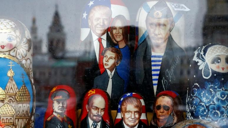 ABC: сувениры с Трампом всё ещё пользуются спросом в России