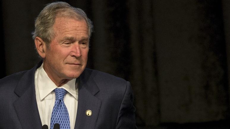 Today: Буш вспомнил, как учил Путина свободе прессы