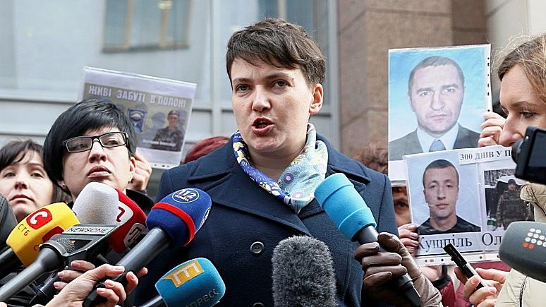 Сегодня: Савченко задумалась над поездкой «в украинский Крым»
