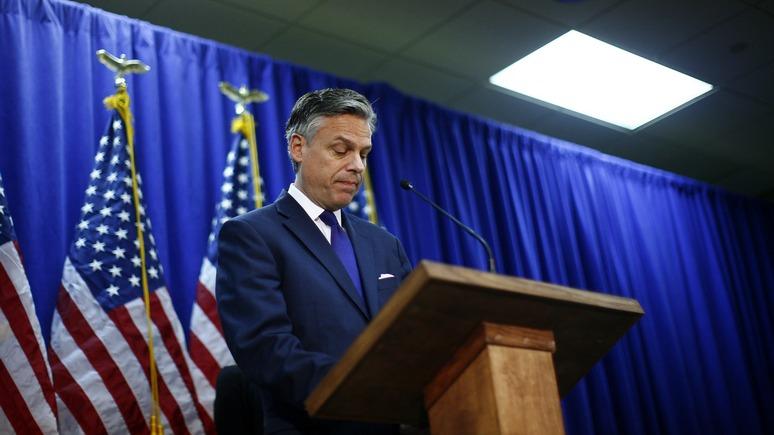 Hill: на должность посла США в России претендует экс-губернатор Юты
