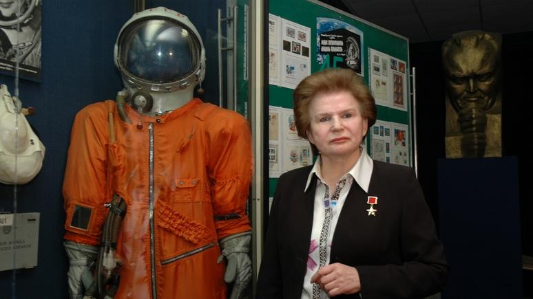 Spiegel: «космическое сияние» Терешковой греет и Путина