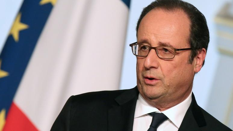 Олланд: ЕС прижат к стенке — он делает всё правильно, но слишком поздно