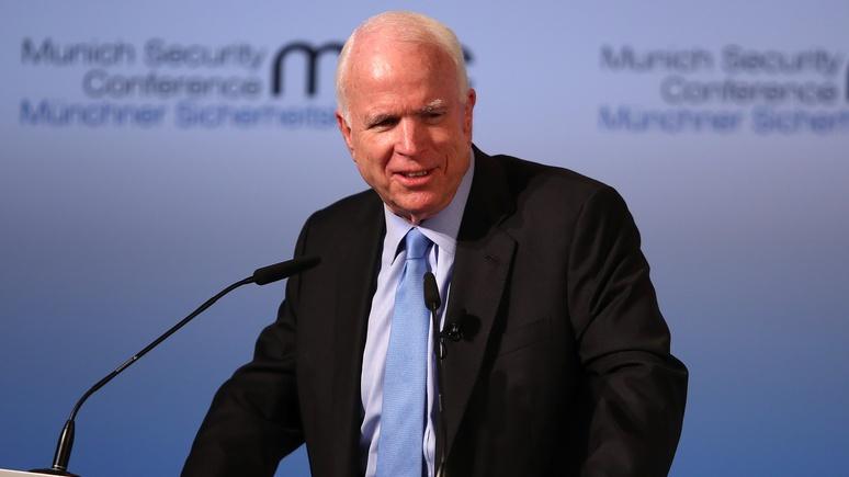 WE: Маккейн не знает, кто взломал ЦРУ, но помнит о «русских связях» WikiLeaks