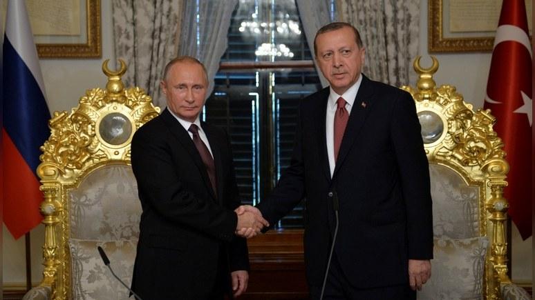 Daily Express: Эрдоган встретится с Путиным, чтобы «упрекнуть» Евросоюз