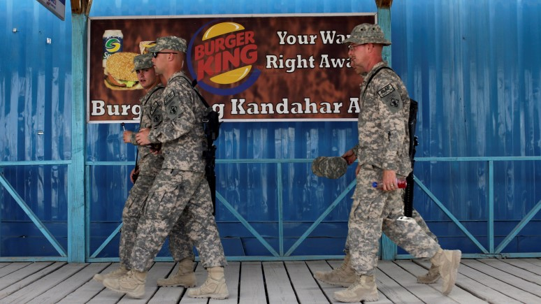 WSJ: на границе с Россией солдаты США бросят вызов своим желудкам