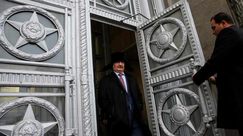 Reuters: Российский спецназ замечен на границе с Ливией
