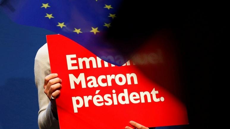 Bloomberg: «французский гамбит» выходит Путину боком