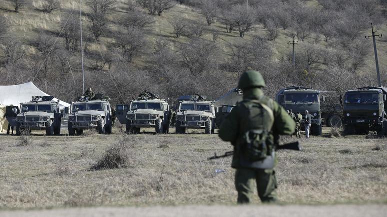 Корреспондент: Киев наблюдает за «незаконными» учениями в Крыму