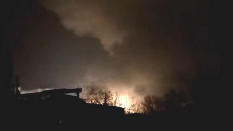Лiга.net: пожар на складе боеприпасов под Харьковом — это диверсия
