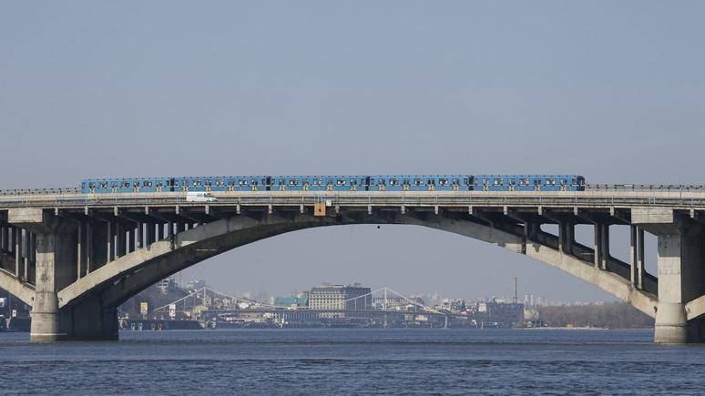 Вести: киевское метро рискует остановиться из-за «российского долга»