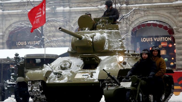 Die Welt: Россия — куда ни глянь, всюду танки