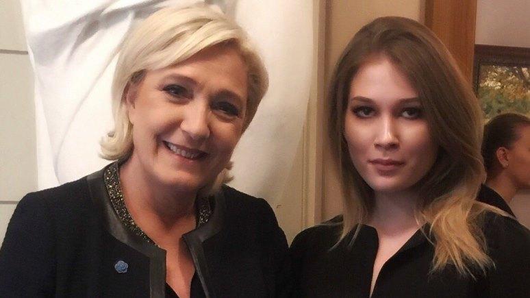 20 minutes: главная русская фанатка Ле Пен едет в Париж с «секретным заданием»