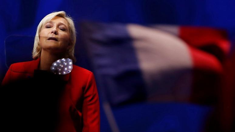 Bloomberg: возможная победа Ле Пен немедленно обрушит евро