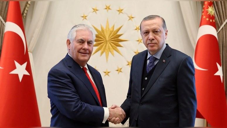Financial Times: визит Тиллерсона не дал Турции долгожданной «перезагрузки»