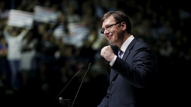 Süddeutsche Zeitug: главный кандидат в президенты Сербии устроит и Москву, и Запад