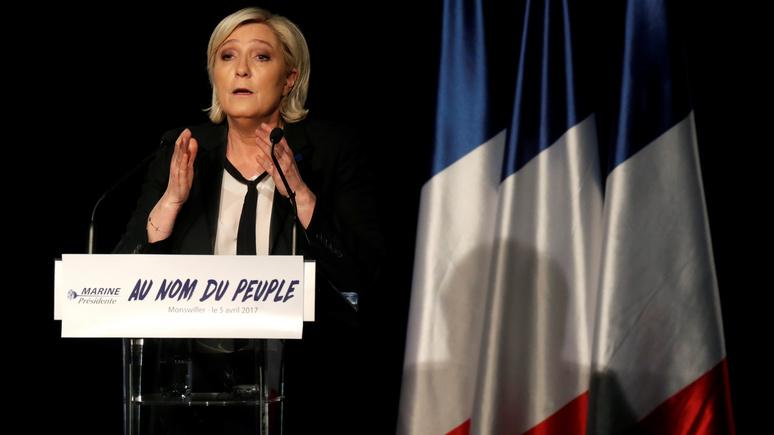 Ле Пен: Трамп допустил ошибку, ввязавшись в сирийский конфликт