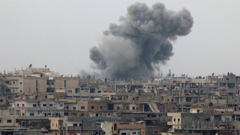 Zeit: Турция призвала США «продолжать бомбить Сирию»