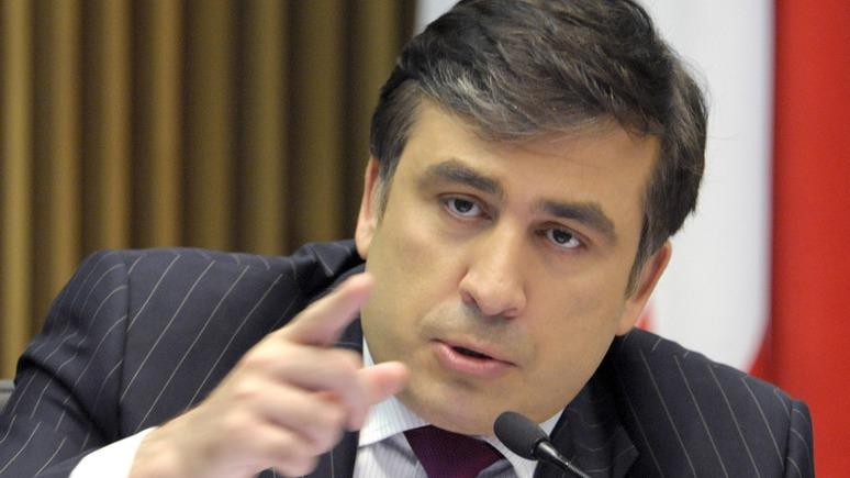 Саакашвили предложил Украине отгородиться от Донбасса стеной