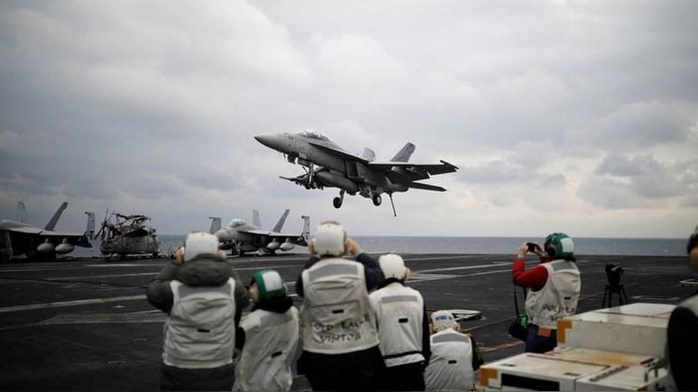 HuffPost: новую войну на два фронта США могут не потянуть