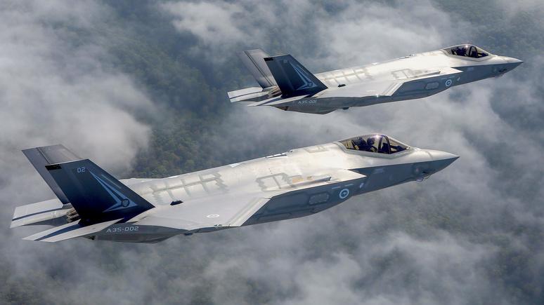 Washington Examiner: американские истребители защитят европейцев от «агрессии России»