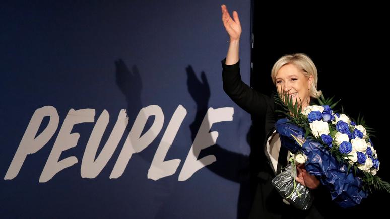 BFM: Ле Пен поддерживают в Кремле... и Америке