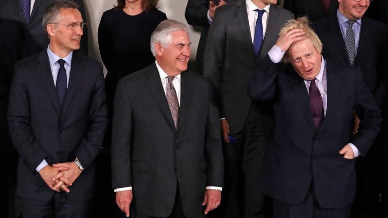 Джонсон: если США предложат ударить по «монстру», Лондону будет трудно отказаться