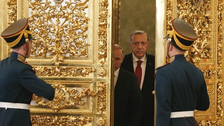 NEOPresse возмутили двойные стандарты ЕС: Турция — партнёр, а Россия — нет