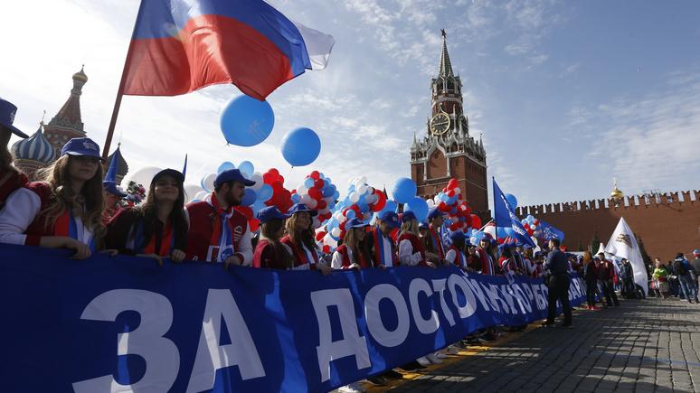 RFI: Первомай в России снова в моде