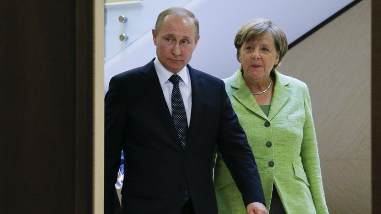 Немецкий политолог: визит к Путину закрепил за Меркель роль лидера ЕС