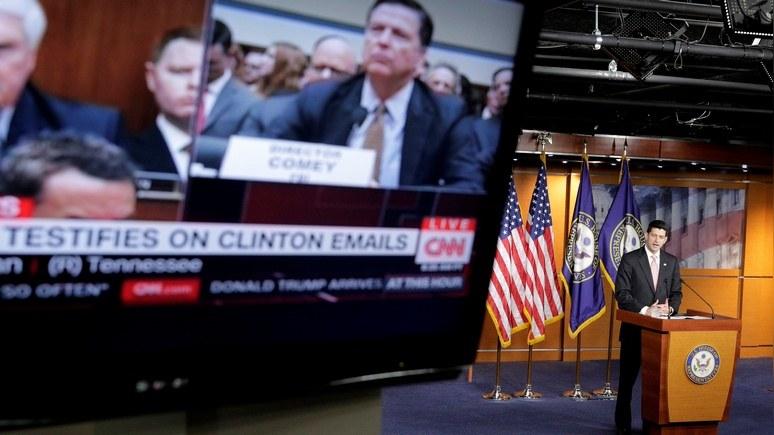 CNN: расследование ФБР по России разочаровало конгрессменов