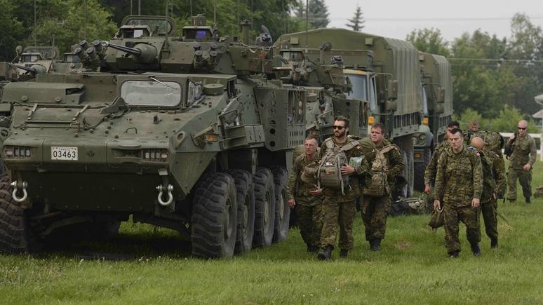 45eNORD.ca: канадская военная техника в Латвии — сигнал единства НАТО