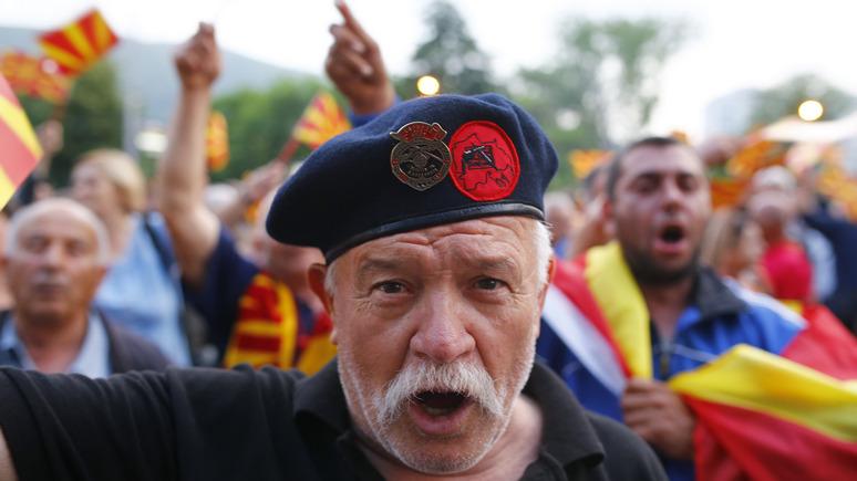 Times рассказала, какими методами Москва склоняет Македонию на свою сторону