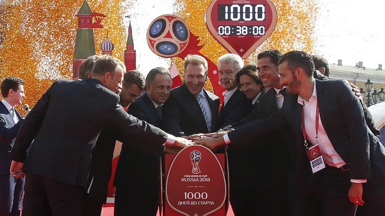 Левый берег: Украина не будет транслировать чемпионат мира из России