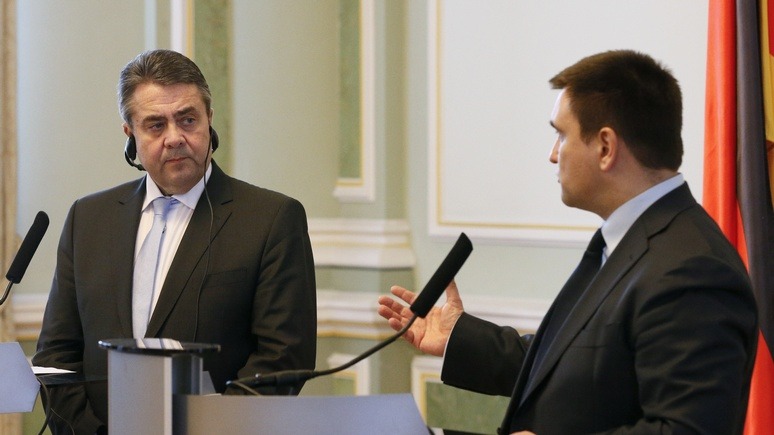 FAZ: Германия не готова нести историческую ответственность за судьбу Украины