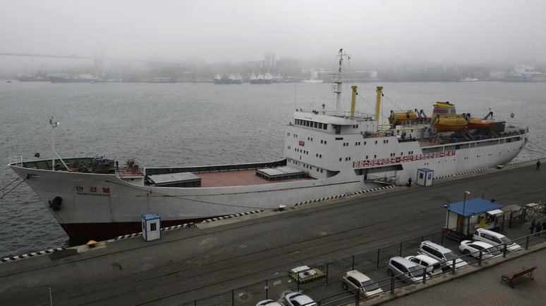 CNN: паром между Россией и Северной Кореей везёт груз и пассажиров — китайцев