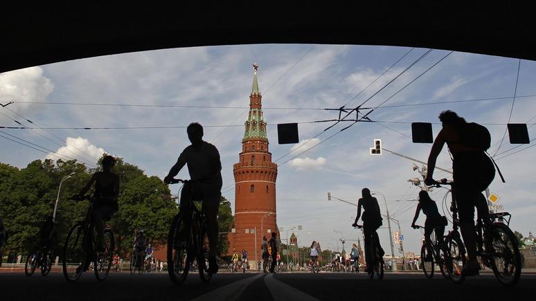 NZZ: велосипед в Москве — пока не общественный транспорт, а удел смельчаков