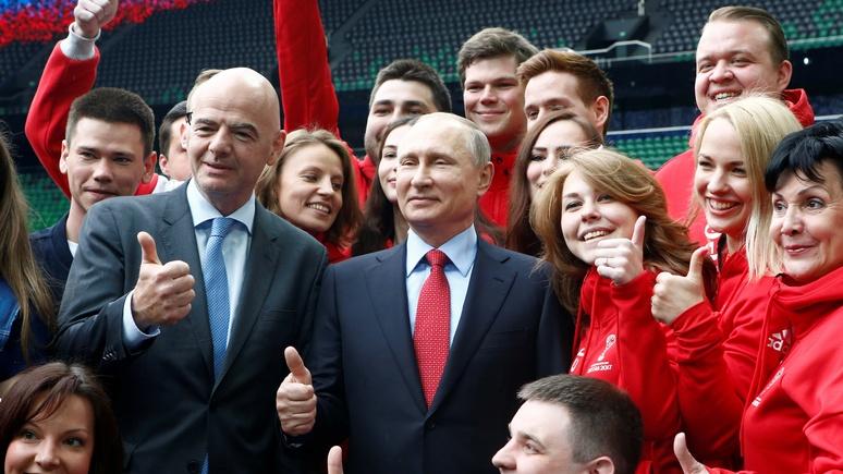 KZ: глава ФИФА пригласил любителей футбола в «прекрасную страну» Россию