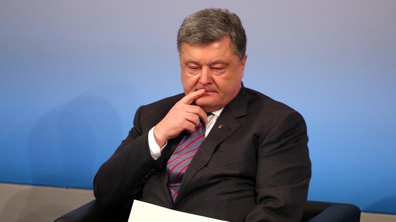СТРАНА.ua: Порошенко уже не так силён, как три года назад