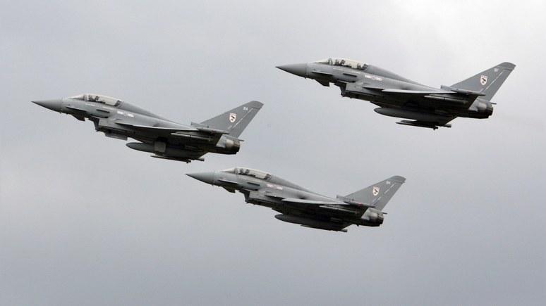 Daily Express: самолёты Путина вновь потревожили британские ВВС
