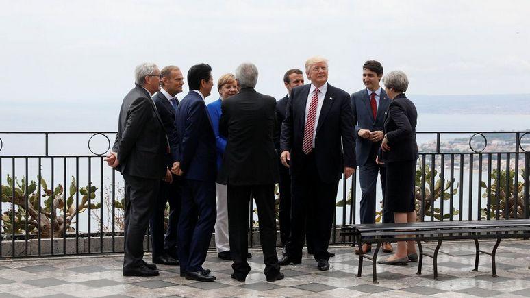 WSJ: страны G7 продлили санкции против России и пригрозили «более жёсткими мерами»