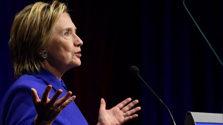 Клинтон: «вмешательство» России в выборы направляли американцы